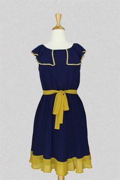 Looks like a Sherri sort of dress to me...Cross The Sea Pleated Dress