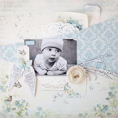 Baby boy *c'est magnifique* August kit - Scrapbook.com