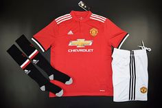 357c53dbe83 Manchester United Home full kit by tectopjersey Soccer Kits