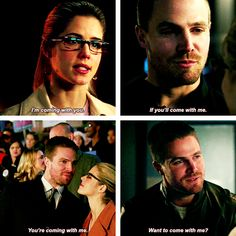 Arrow - Oliver & Felicity #Olicity #parallels <3