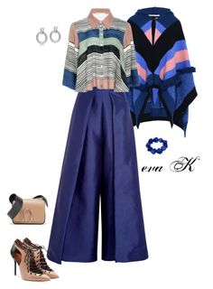 """something blue"" by eva-kouliaridou ❤ liked on Polyvore featuring STELLA McCARTNEY, Solace, Mara Hoffman, Malone Souliers, 3.1 Phillip Lim, Alor and John Lewis"