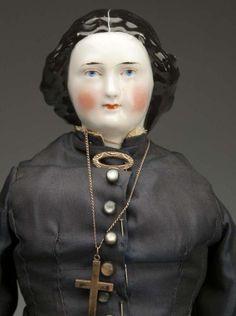Lot # : 48 - Desirable German China Doll.
