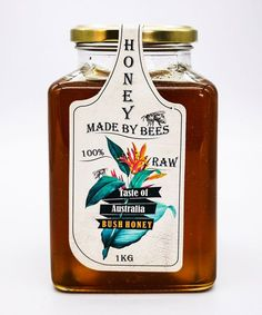 100% Natural Raw Australian Honey Square Glass Jar brings a taste of Australia and breath-taking aromas to your pantry with the opening of the jar. Raw Honey Square Glass Jar is perfect for a family of honey lovers when you need a delicious 100% Raw Australian honey. Keep it in the pantry as your everyday go-to honey. Australian Honey, Honey Bottles, Raw Honey, Glass Jars, Whiskey Bottle, Pantry, Amber, Vitamins, Natural