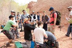 Behind the scenes of Danny Boyle's 127 Hours.#Oscars #Platinum #SableFilms