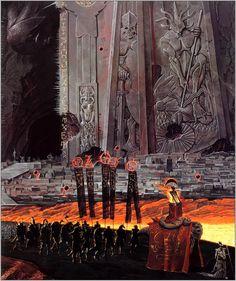artsytoad:  Wayne Barlowe,Hell's Wargate