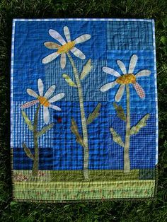 Summer quilt by Stina Blomgren