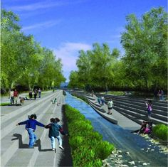 los angeles river restoration project | Project - Los Angeles River Revitalization Master Plan - Architizer