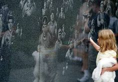 Korean War Veterans Memorial Wall in Washington, DC- one of my favorite places to go!!