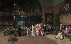 Marià Fortuny - La Vicaría, 1870 - Museo Nacional de Arte de Cataluña