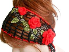 Head band for Women, Summer woman accessory, Black Headband, Knitted headband, Flower Headband, Turban, Headband Adult, Headband Bandana     Black mercerized yarn is used. Red flower leaf was applied on top. You can use it in all seasons. Hair adds beauty. Stylish style headband.   COLOR; Black Red Flower, Leaves    MAINTENANCE INSTRUCTIONS Hand washing. Leave it to the institution.   Deliveries will be sent within 1-3 days of receiving payment. You can track your business with your tracking…