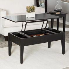 Turner Lift Top Coffee Table - Black