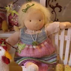 """Puppen - ♥ Waldorfpuppe """"Mein liebes Puppenkind"""" - ein Designerstück von Lilli-Landei bei DaWanda"""