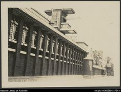 Frank Lloyd Wright's Midway Gardens. 1914 (demolished in 1923) Chicago.