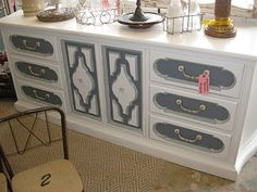 Vintage painted furniture