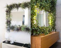 Coole Idee Fuer Badezimmergestaltung Mit Pflanzen Fuers Bad_kreative