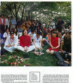 hippie wedding, central park