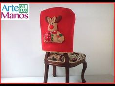 Covers Reno Chairs in Felt step by step Reno, North Pole, Christmas Crafts, Projects To Try, Cover, Furniture, Home Decor, Videos, Feltro