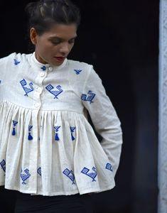 Belfast Organic Cotton Kedia Top / Jacket