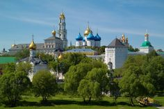 Троице-Сергиева лавра, Москва, Россия