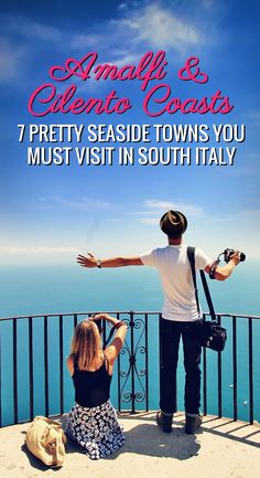 Amalfi & Cilento Coasts - 7 Pretty Seaside Towns You Must Visit In South Italy | One of Europe's most romantic destinations seducing visitors with enchanting caves, archeological sites, picturesque beaches and the best of Mediterranean food... | Photo � Sabrina Iovino via @Just1WayTicket