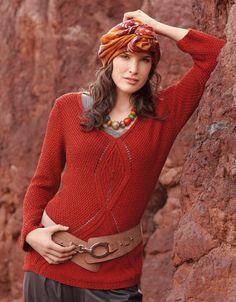 Pretty sweater pattern