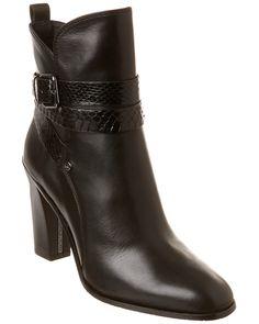 Donald J Pliner Oli Leather Bootie is on Rue. Shop it now.
