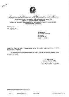 Comunicazione miur 11.6.2012  by Chimici  farmacisti : a group interested in chemistry field via slideshare