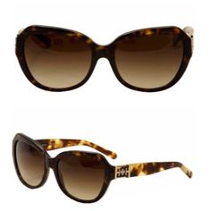 Tory Burch tortoise shell sunglasses Gorgeous sunglasses that are brand new in the original bag and case. Available to ship on 4/16  Tory Burch Accessories Sunglasses
