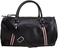 Ben Sherman Men's Iconic Barrel Bag, Black, One Size Ben Sherman, http://www.amazon.com/dp/B006YN517O/ref=cm_sw_r_pi_dp_KhO3pb1E822EZ