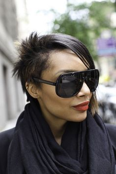 Big black sunglasses