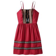 Xhilaration Juniors Sleeveless Woven Dress - Assorted Colors  GO ON SALE NOW