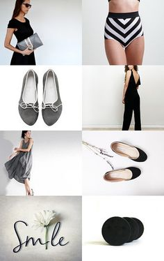 black and grey by vassi K. on Etsy--Pinned with TreasuryPin.com