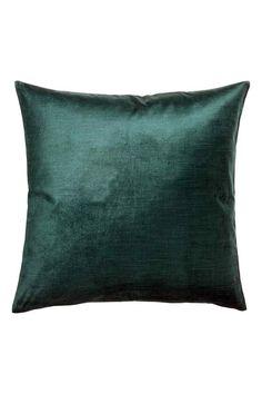 Sametový povlak na polštářek: Sametový povlak na polštářek z bavlněné směsi. Má…