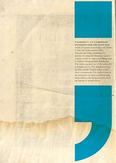 Semicolon poster by Stéphane Massa-Bidal. Layout Design, Flugblatt Design, Print Layout, Book Design, Quote Design, Design Graphique, Art Graphique, Layout Inspiration, Graphic Design Inspiration