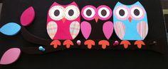 Owl Clothing Rack/Towel Rack/Peg Rack