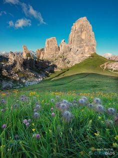 * Cinque Torri, Cortina d'Ampezzo, Dolomites, province of Belluno, Veneto… Machu Picchu, Lake Mountain, Mount Everest, Northern Italy, Tenerife, Nature Pictures, Nice View, Italy Travel, Destinations