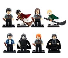 Harry Potter Inspired Block Set by Generic Harry Potter Severus Snape, Albus Dumbledore, Draco Malfoy, Hermione Granger, Harry Potter Action Figures, Lord Voldemort, Sirius Black, Deathly Hallows, Darth Vader