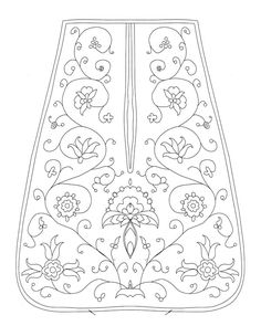 Pocket pattern American Duchess:Historical Costuming: A Colonial Williamsburg Pocket for Colonial Williamsburg Blackwork Embroidery, Cross Stitch Embroidery, Embroidery Patterns, Hand Embroidery, Machine Embroidery, Sewing Patterns, Skirt Patterns, Coat Patterns, Blouse Patterns
