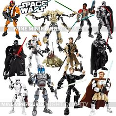 KSZ Star Wars Minifigures Darth Vader General Grievous Clone Commander Cody Figure toys building blocks compatible lego-in Blocks from Toys & Hobbies on Aliexpress.com | Alibaba Group