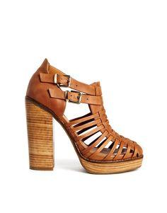 39ac2744bae15 ASOS WHITE WALK THE LINE Shoe Boots in Tan Estilo Femenino