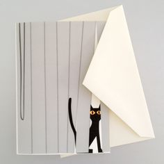I love all these cat note cards by R. Nichols! ---- Note Cards Cat In Blinds 8pc
