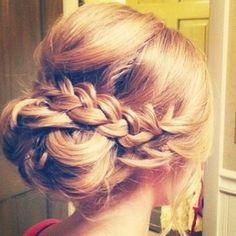 Bridesmaid Hair .@Jane Izard potter  (*ʜɑıʀposт) 's Instagram photos   Webstagram - the best Instagram viewer