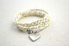 - wrapped bracelet