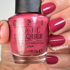 OPI by Popular Vote is a grayed out berry polish. New from the OPI Washington DC Collection 2016 (Fall/ Winter). Opi Nail Polish, Opi Nails, Nail Polishes, Opi By Popular Vote, Opi Colors, Nail Trends, Getting Old, Beauty Nails, Hair And Nails