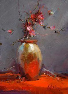 ❀ Blooming Brushwork ❀ garden and still life flower paintings - John Cook