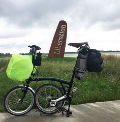 Folding Bicycle, Touring Bike, Brompton, Travel Light, Cycling, Style, Bicycles, Bike Ideas, Swag