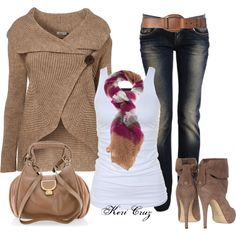 Autumn Style, created by keri-cruz on Polyvore