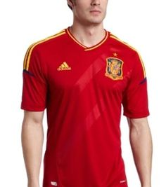 f17a98d24 ADIDAS SPAIN EURO 2012 HOME JERSEY - http   www.amazon.com