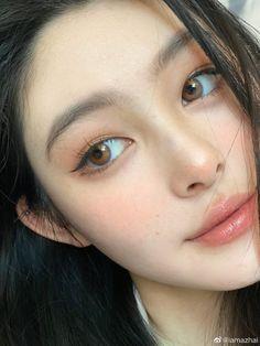 Korean Look, Korean Makeup Look, Asian Eye Makeup, Makeup Inspo, Makeup Inspiration, Makeup Tips, Beauty Makeup, Hair Makeup, Beautiful Girl Makeup