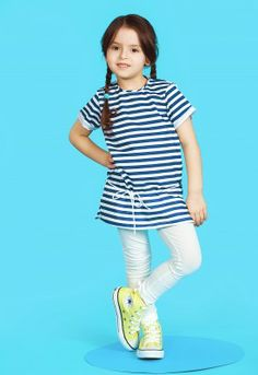Only stripes tunic, #marine #kids #summer